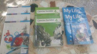 Libros de texto 4° de ESO