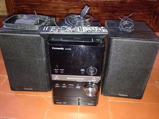 Cadena de musica Panasonic