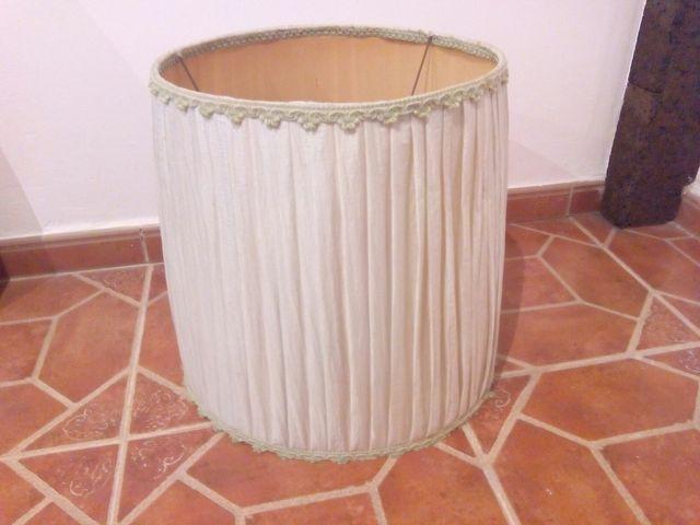 Pantalla Para Lámpara De Pie De Segunda Mano Por 5 En Málaga En