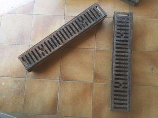 Canaletas hierro