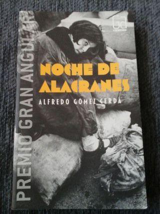 """Libro """"Noche de alacranes"""""""