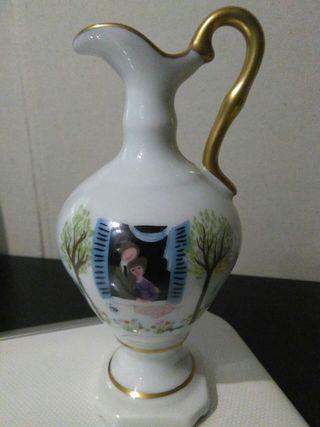 Jarroncito decorativo porcelana francesa