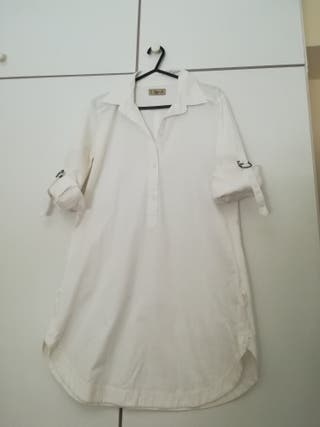 Camisa blanca talla M
