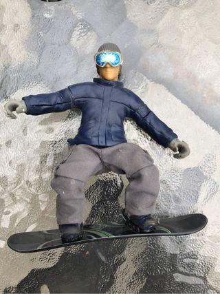 Muñeco snowboarder