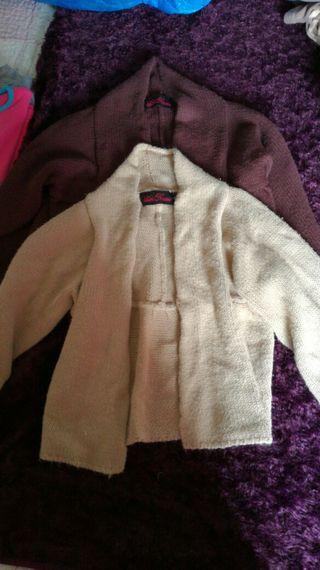 2 chaquetas de niña