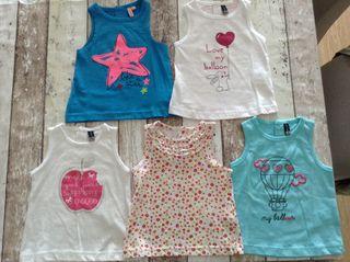 Camisetas bebé 71cm (6meses)
