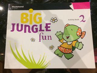 Libro big jungle fun 2 activit