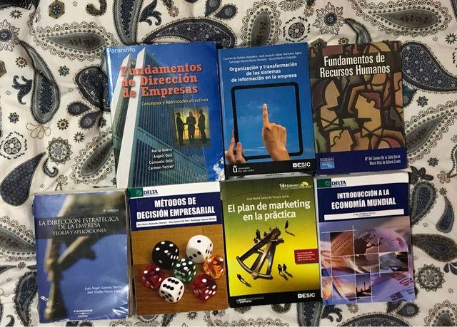 Libros universidad ADE
