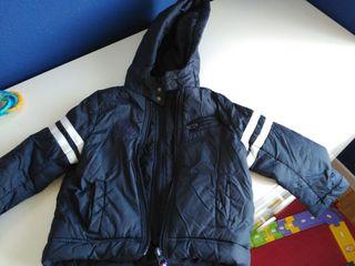 abrigo niño talla 2 años