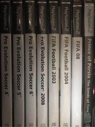 Fifas y PES PS2