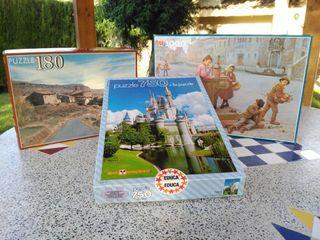 3 Puzzles y 1 de regalo