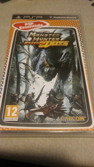 Juego PSP Monster Hunter Freedom Inite