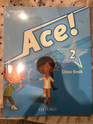 Libro ingles ace 2 class book