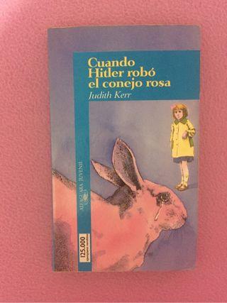 """Libro lectura """"Cuando Hitler robó el conejo rosa"""""""