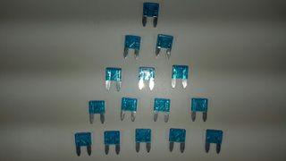fusibles mini 15A 11 mm