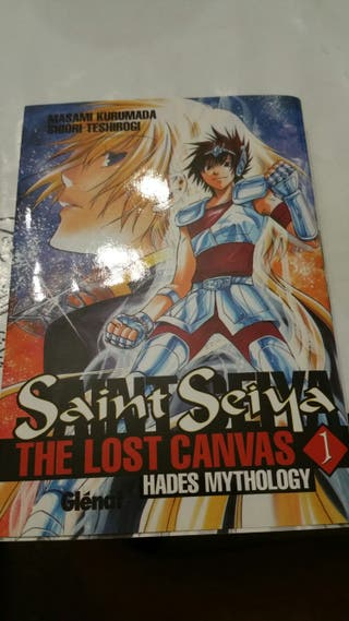 Manga Saint Seiya tomo 1