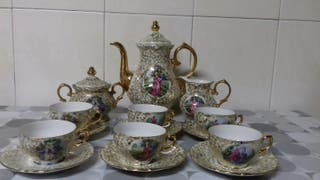 Juego de cafè porcelana