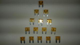 fusibles mini 5A 11 mm