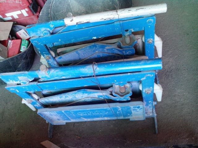 Cizalla alba C40 maquina cortar terraza suelo