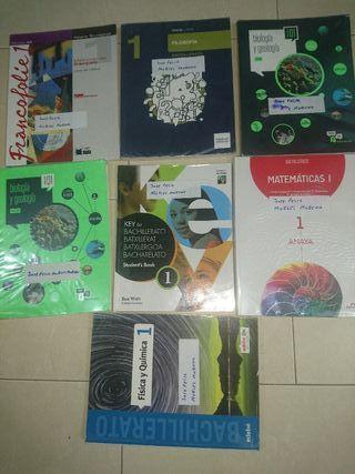 libros de primero de bachillerato de ciencias