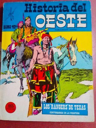 antiguo comic historia del oeste