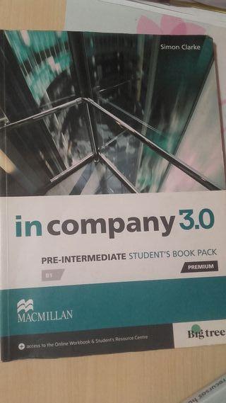 Libro ingles IN COMPANY 3.0