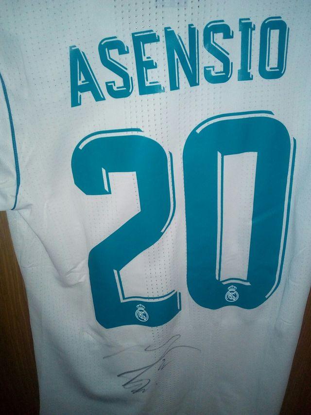 Camiseta firmada por Marco Asensio de segunda mano en Torrejón de ...