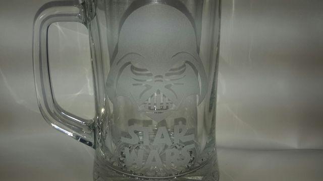 jarra cerveza star wars dark vader 62 cl nueva