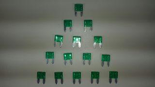 fusibles mini 30A 11 mm