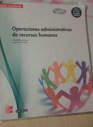 Libro Operacionenes admin. Recursos humanos