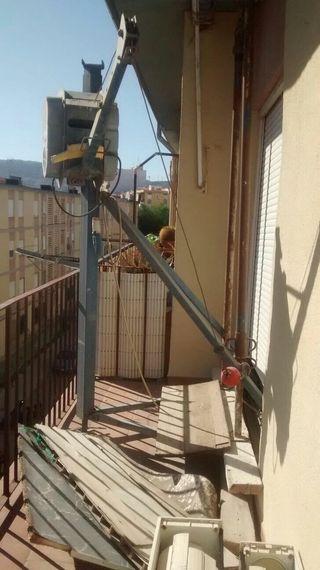 Montacargas maquinillo obra 300 kg preme y trípode