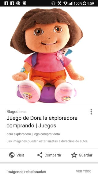 juega con Dora IMPECABLE