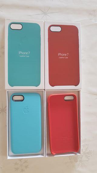 Iphone 7 funda de piel original