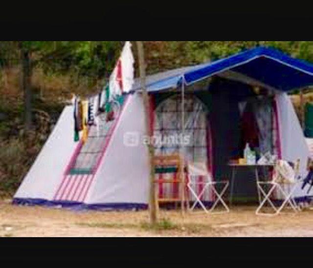 Tienda chalet camping