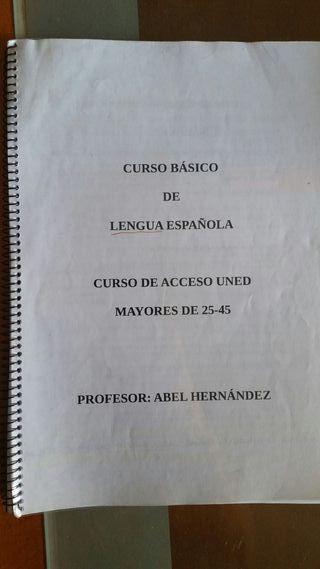 libro LENGUA acceso uned