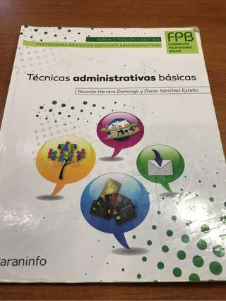 Tecnicas administrativas basic