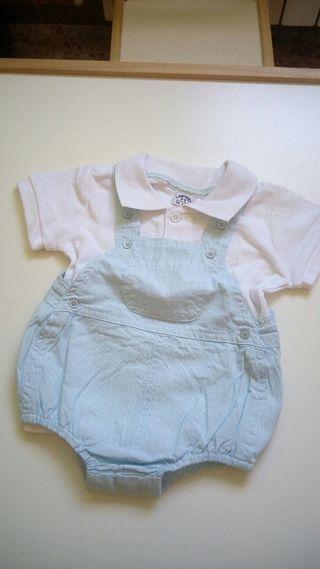Pelele y camisa niño