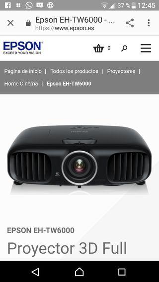 Epson eh tw 6000 full HD 3D