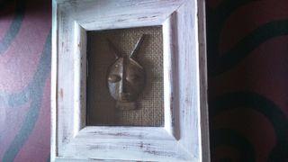 dos cuadritos de madera vintage