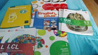 lote libros 1 ESO