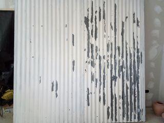 puerta de cochera o solar