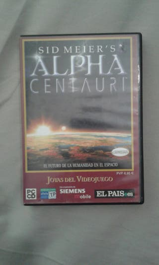 Juego PC Alpha Centauri