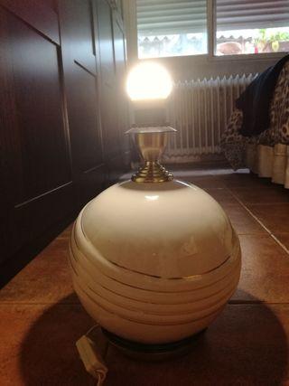 lámpara de masilla