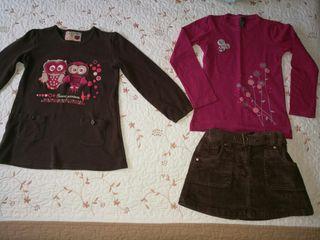 lote ropa niña 6 años