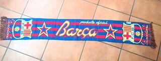 Bufanda oficial FCB y Málaga