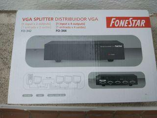 Splitter VGA 1 in 2 out