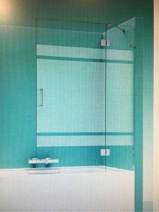 Mampara ducha vidrio de segunda mano por 110 en for Mamparas oficina segunda mano