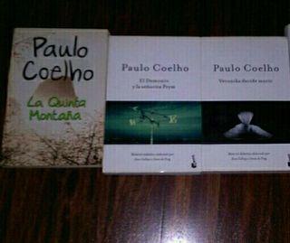 3 libros Paulo Coelho