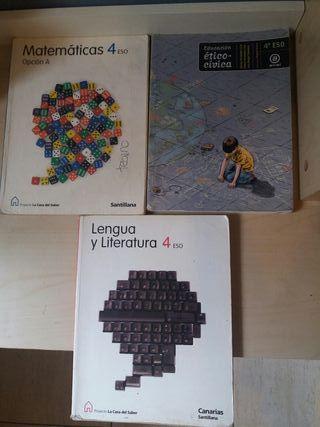 Libros 4° ESO.