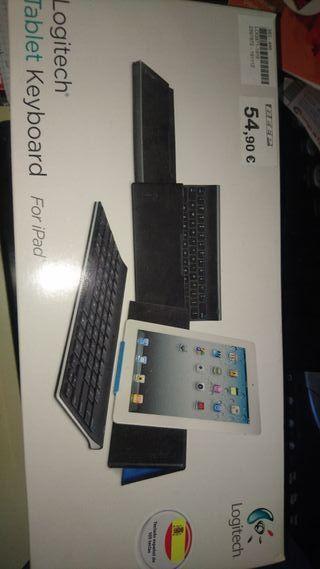 teclado bluetooth logitech tablet y ipad